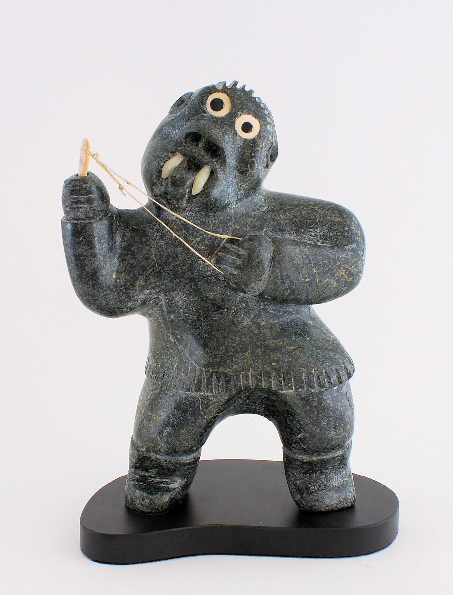 Shaman with String Game; Judas Ooloolah