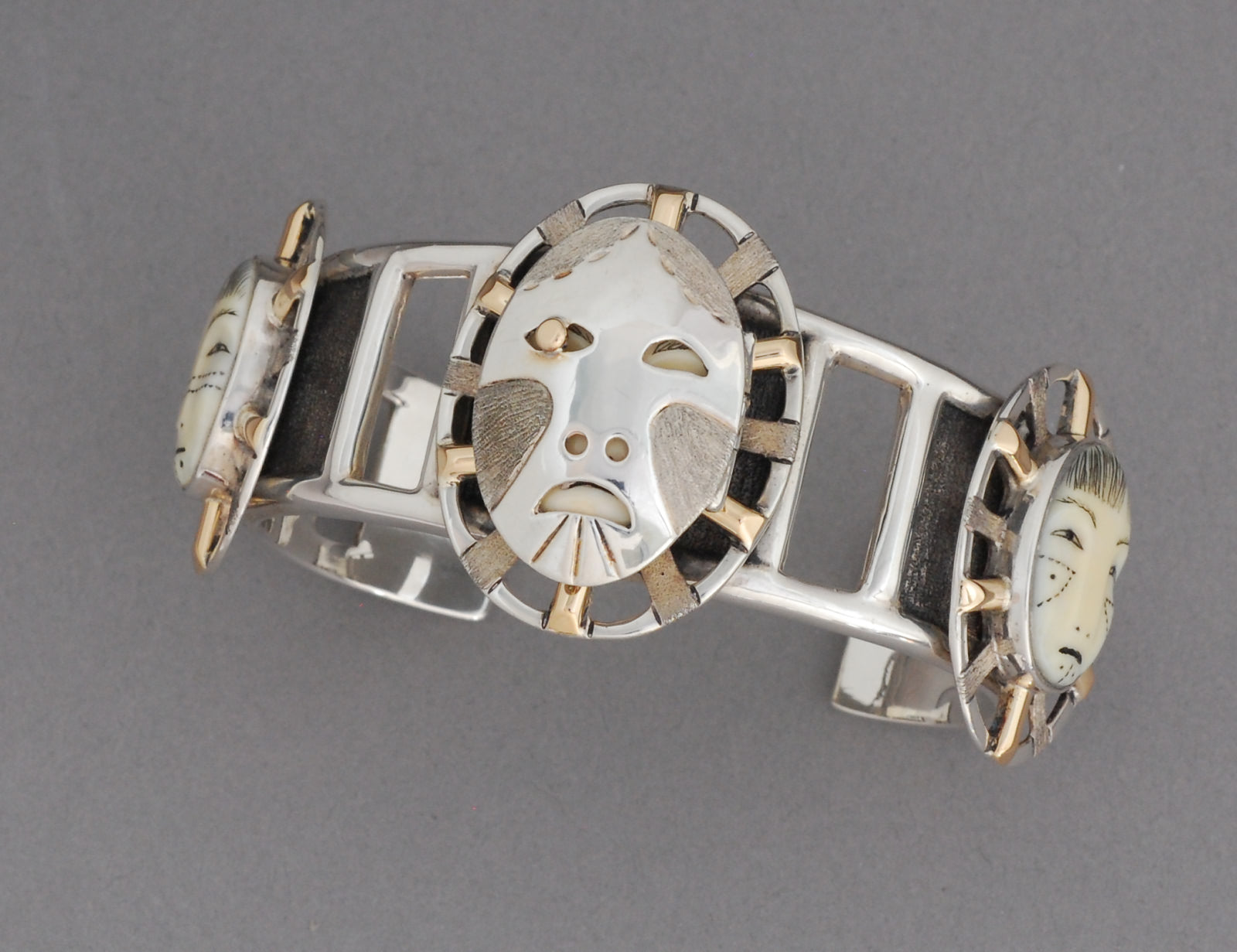 Woman In The Moon Bracelet by Denise Wallace #67 of 200