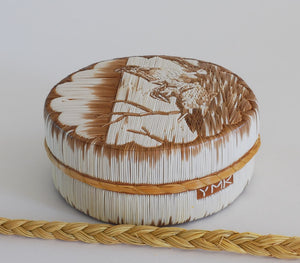 Quill Box by Yvonne Walker Keshick