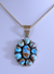 Sterling Pendant with Golden Hill Turquoise by Mary Ann Spencer