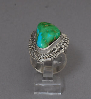Sonoran Turquoise Ring by Bennie Raton