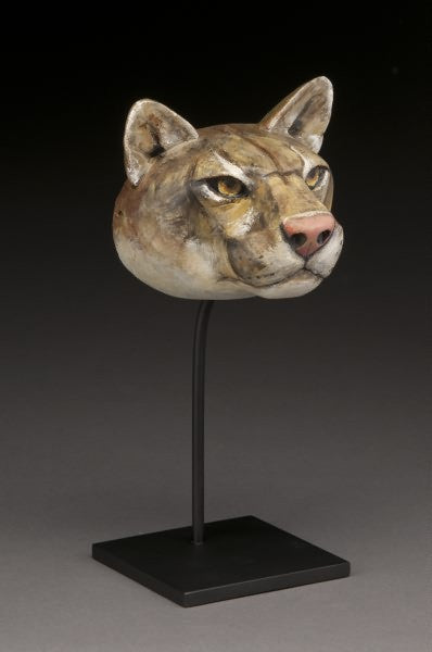 Cougar Mask Bronze by Hib Sabin