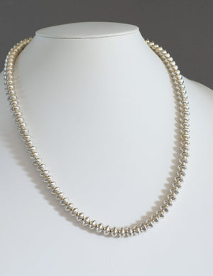 """Navajo Pearls"" 26"" Necklace by Jeffrey Nelson"