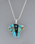 Large Inlay Bear Pendant by Jimmy Poyer