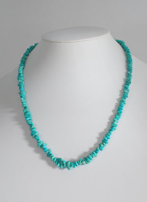 Number Eight Turquoise Nugget Necklace