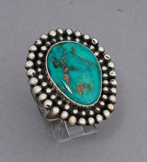 Royston Turquoise Ring by Anthony Kee