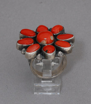 Coral Cluster Ring by Leonard Chee