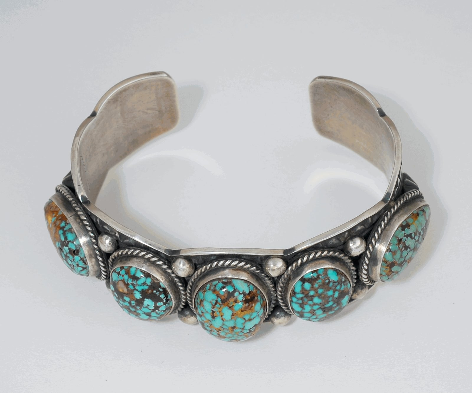Cuff Bracelet by Albert Jake (Navajo)