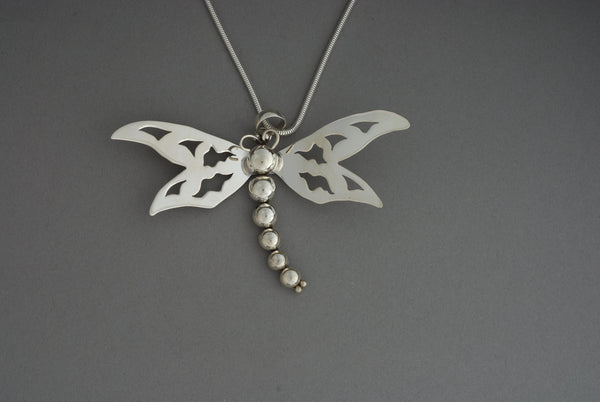 Pendant, Small SS Dragonfly