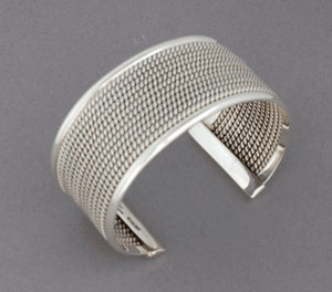 Mesh Cuff Bracelet (Size Small) by Artie Yellowhorse