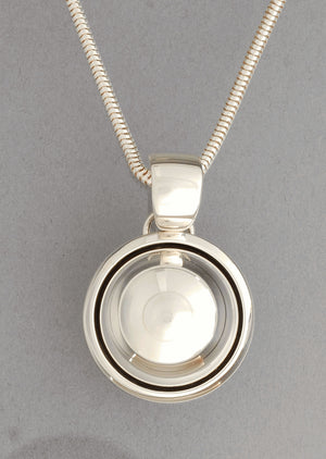 Round Dome Pendant by Artie Yellowhorse