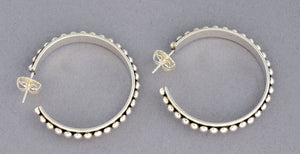 "1.5"" Hoop Earrings  by Artie Yellowhorse"