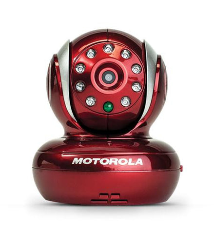 Wi-Fi Blink Baby Monitor Camera (Red) by Motorola