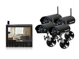 SEC-DIGILCDDVR4 Four Wireless Camera Kit with LCD/DVR/SD