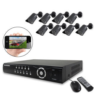 DIY Complete Security System w/ 8 cams by SecurityMan