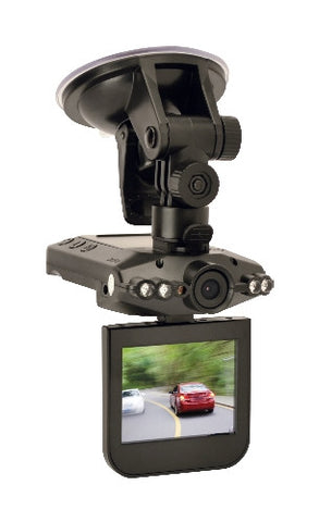 "STC-DASHCAM Car Dashboard Camera with 2.5"" Color LCD, HD DVR by StealthCam"