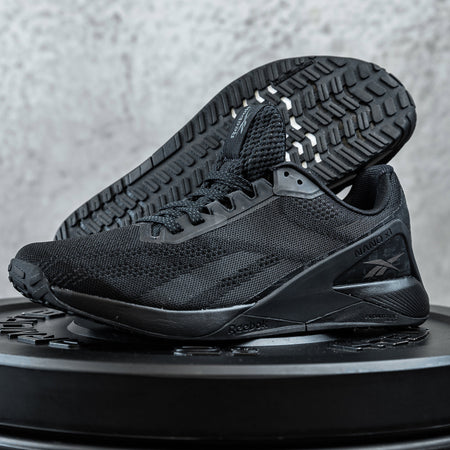 "REEBOK - NANO X1 ""I'LL CALL YOU BACK"" - Women's - CORE BLACK/TRUE GREY/PEWTER"