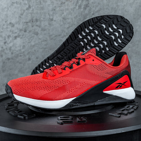Reebok - Nano X1 - Men's - DYNAMIC RED/WHITE/BLACK