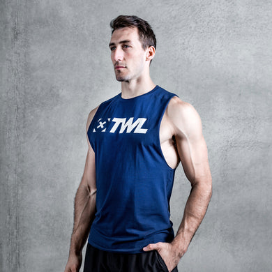 TWL - EVERYDAY MUSCLE TANK 2.0 - INDIGO