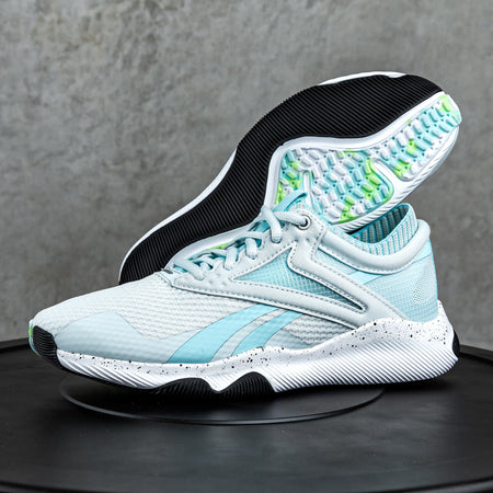 Reebok - HIIT Training Shoes - Women's - CHALK BLUE/NEON MINT/FTWR WHITE