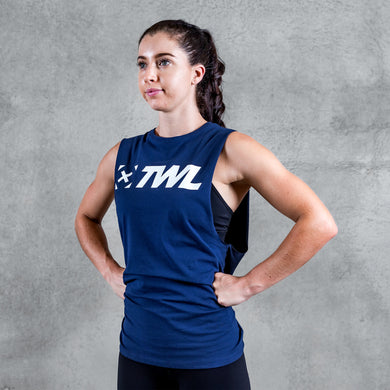 TWL - UNISEX EVERYDAY MUSCLE TANK 2.0 - INDIGO