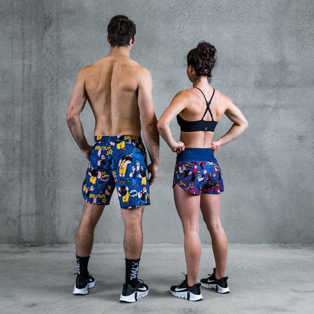 TWL - Men's Flex Shorts and Women's Motion Shorts - POPEYE