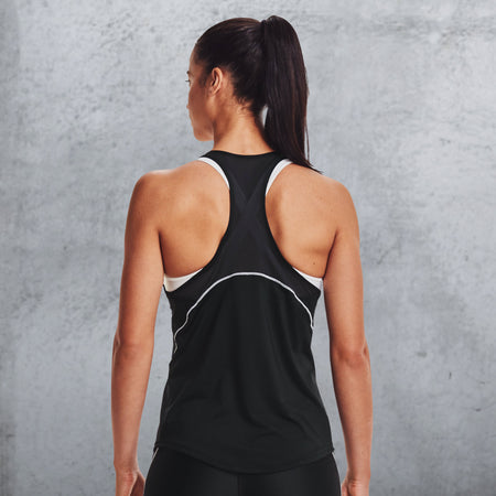 Under Armour - Women's UA CoolSwitch Tank - Black/White