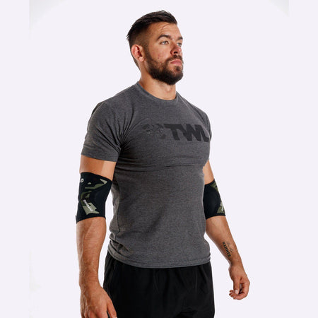 Weightlifting Accessories - Rehband RX Elbow Sleeve - 5mm - Camo - SINGLE