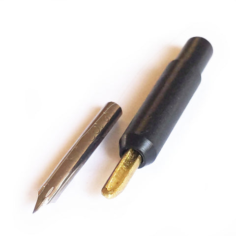 Quill nib and adaptor