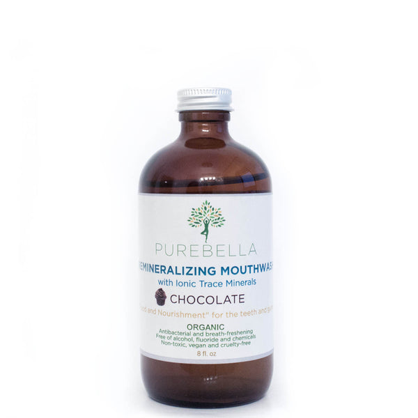 PureBella Remineralizing Mouthwash with Ionic Trace Minerals
