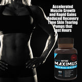 Maximus Nitric Oxide By Naturo Nitro- 60 Tablets
