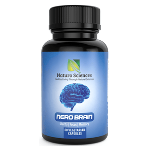 Nero Brain Booster Nootropic Supplement By Naturo Sciences (60 Capsules) - Naturo Sciences