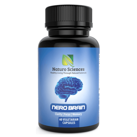Nero Brain Booster Nootropic Supplement By Naturo Sciences (60 Capsules)