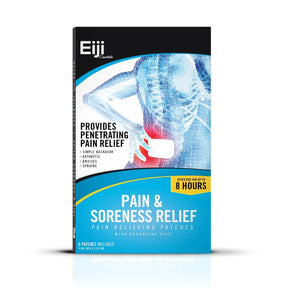 Pain Relief Patch By Eiji Essentials Premium Essential Oils & Herbs - Naturo Sciences
