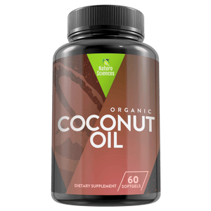 Organic Extra Virgin Unrefined Coconut Oil Supplement By Naturo Sciences, 60 SoftGels - Naturo Sciences