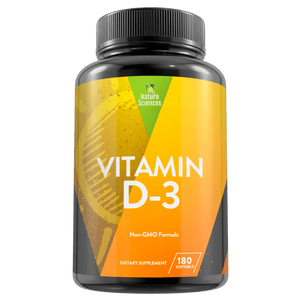 Vitamin D3 5000 IU Dietary Supplement By Naturo Sciences - Naturo Sciences