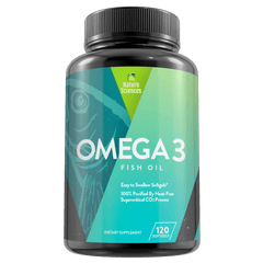 Omega 3 Fish Oil 1700mg including 900 mg of EPA By Naturo Sciences, 120 softgel