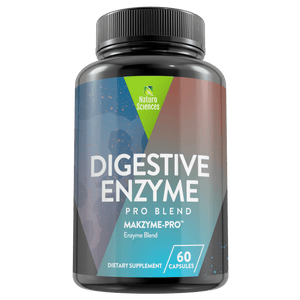 Digestive Enzyme Nutritional Dietary Supplement By Naturo Sciences, 60 Capsules - Naturo Sciences