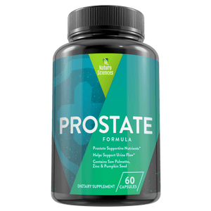 Premium Natural Prostate Treatment Formula by Naturo Sciences - 60 Capsules - Naturo Sciences
