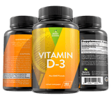 Vitamin D3 5000 IU Dietary Supplement By Naturo Sciences
