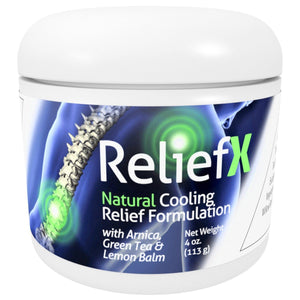 ReliefX Pain Relief Cream By Naturo Sciences ™- 4 Ounces - Naturo Sciences