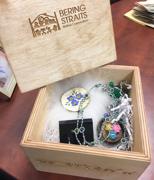 Bering Straits Culture Box with Items