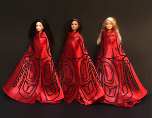Collectors Item: Killerwhale Robe and Gown set for Barbie