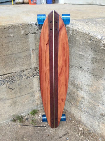 "Super Pintail Skateboard 46"" x 10"" Made in The USA"