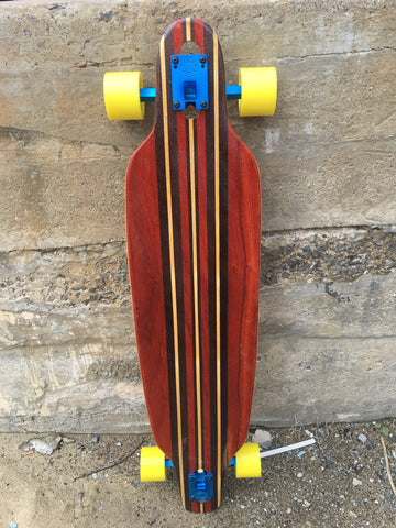 "NEW 2016 Custom Handmade Longboard Drop Through ""F-41"" (SOLD OUT)"
