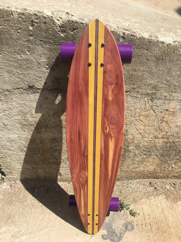 "Skateboard Pintail ""Purple Haze II"""