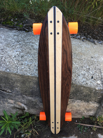 Brasil Maduro Chestnut Limited edition Pintail Skateboard 5 made total!!! ONLY 2 Left!!!!