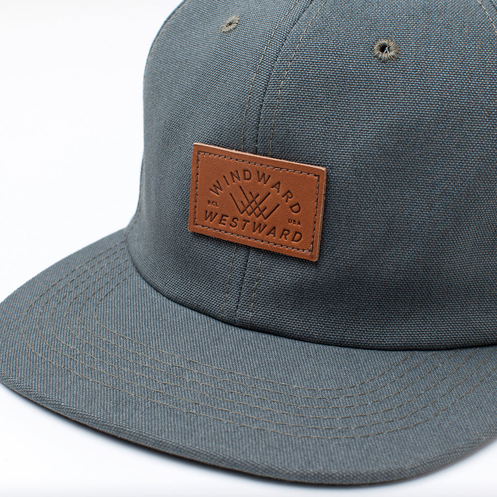 WW Oiled Canvas <br> 6-Panel Hat