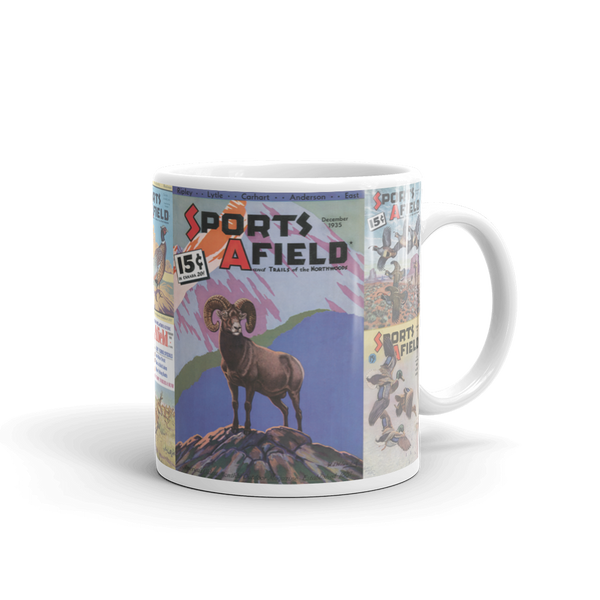 Sports Afield Bighorn Sheep Mug