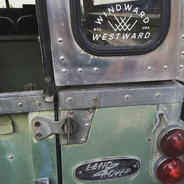 Windward Westward <br> Decal Sticker